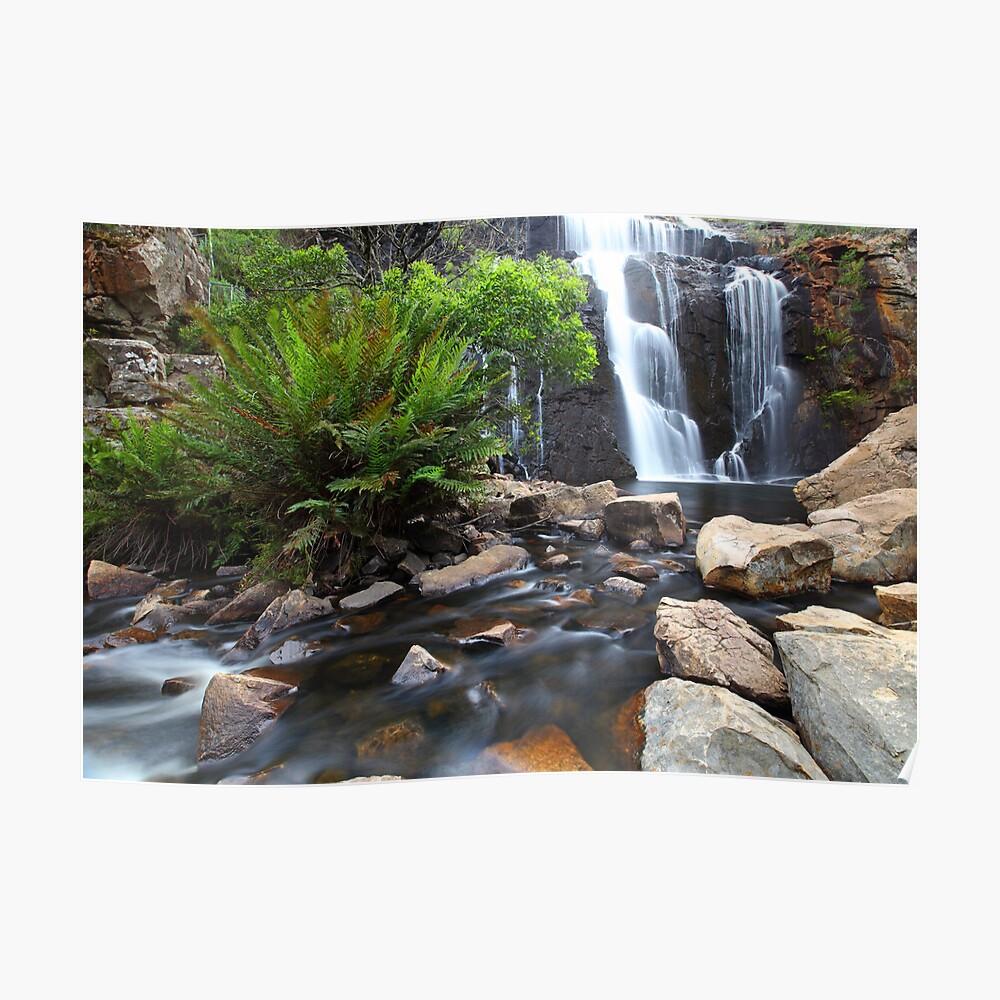 Mc Kenzie Falls, Grampians, Australia Poster