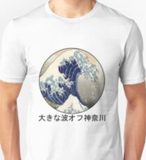The Great Wave Off Kanagawa Slim Fit T-Shirt
