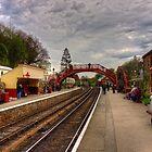 Goathand Station Platform by Tom Gomez