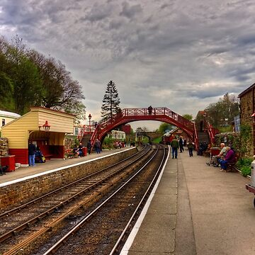 Goathand Station Platform by tomg