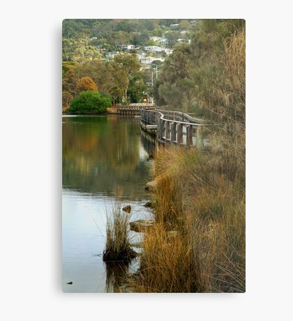 Boardwalk Lorne Metal Print