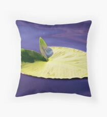 Lillypad Throw Pillow
