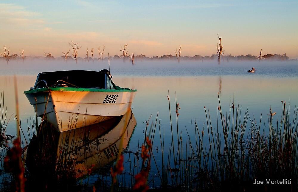 Sun-up on Lake Fyans by Joe Mortelliti
