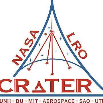 CRaTER (Cosmic Ray Telescope for the Effects of Radiation) Logo by Spacestuffplus