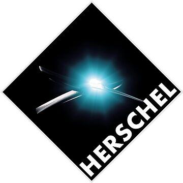 Herschel Space Observatory Design Team Logo by Spacestuffplus