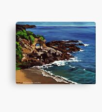 Keyhole Arch En Plein Air Canvas Print