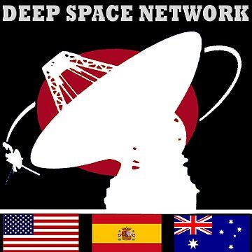 Deep Space Network Logo by Spacestuffplus