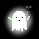 Happy ghost by Cartoon Neuron