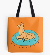 The Comfy Llama Tote Bag