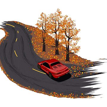 MR2 Autumn Drive by AutomotiveArt