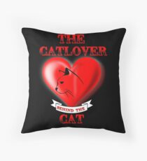 The Catlover behind the Cat Floor Pillow