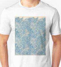 Marigold 1875, Willam Morris, Morris & Co., Pre-Raphaelite Brotherhood Unisex T-Shirt