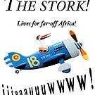 The stork!  Lives for far-off Africa! by Sunil Bhardwaj