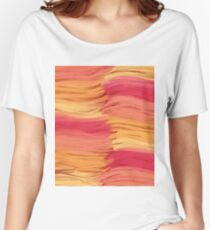 Warm colors Women's Relaxed Fit T-Shirt