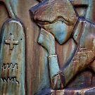 Helsinki Hietaniemi Cemetary No. 7: Weeping Woman by AntSmith