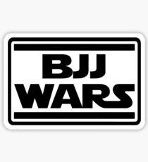 Brazilian Jiu Jitsu Wars Sticker