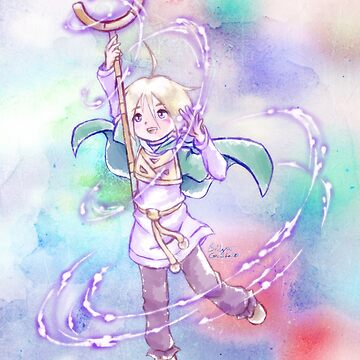 Golden Sun Ivan Anime Fan Art by BonBonBunny by BonBonBunny