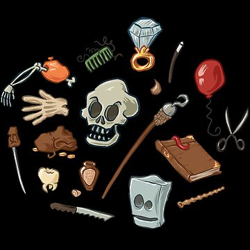 The Curse of Monkey Island Inventory (Special Edition) by klook
