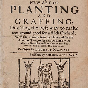 The country-mans new art of planting and graffing (1651) by douglasewelch