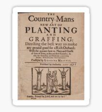 The country-mans new art of planting and graffing (1651) Sticker