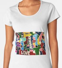 Love and Anarchy Women's Premium T-Shirt