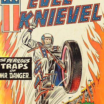 EVEL cartoon motorcycle by Deadscan