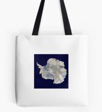 Satellite Image of Antarctica  Tote Bag