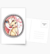 Kitten Selfie Postcards