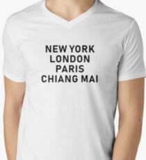 Chiang Mai  V-Neck T-Shirt