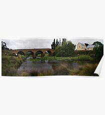 richmond bridge tasmania,panorama Poster