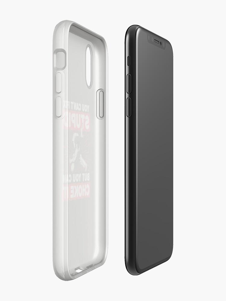 Alternative Ansicht von Jiu Jitsu kannst du nicht dumm reparieren, aber du kannst es ersticken iPhone-Hüllen & Cover