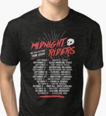 Midnight Riders - No Salvation Tour Tri-blend T-Shirt