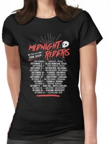 Midnight Riders - No Salvation Tour Womens Fitted T-Shirt