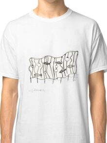 beach sculpture Classic T-Shirt