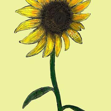Sunflower By Rafi Perez by Rafiwashere