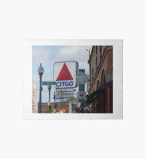 Citgo Sign At Fenway Park Art Board