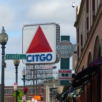 Citgo Sign At Fenway Park by captured-moment