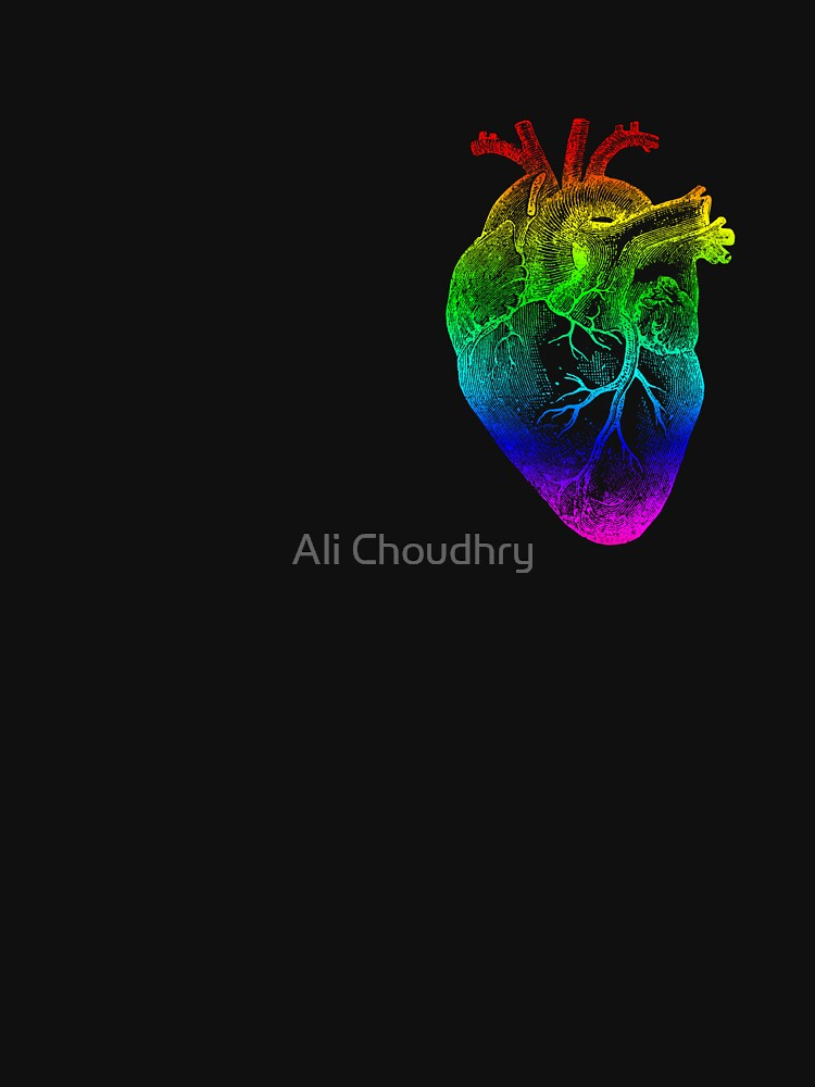 Corazón del arco iris de AHakir