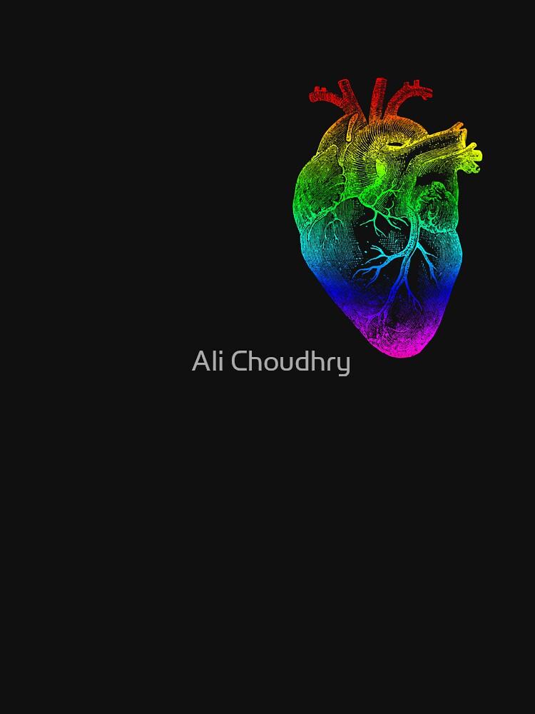 Rainbow Heart by AHakir