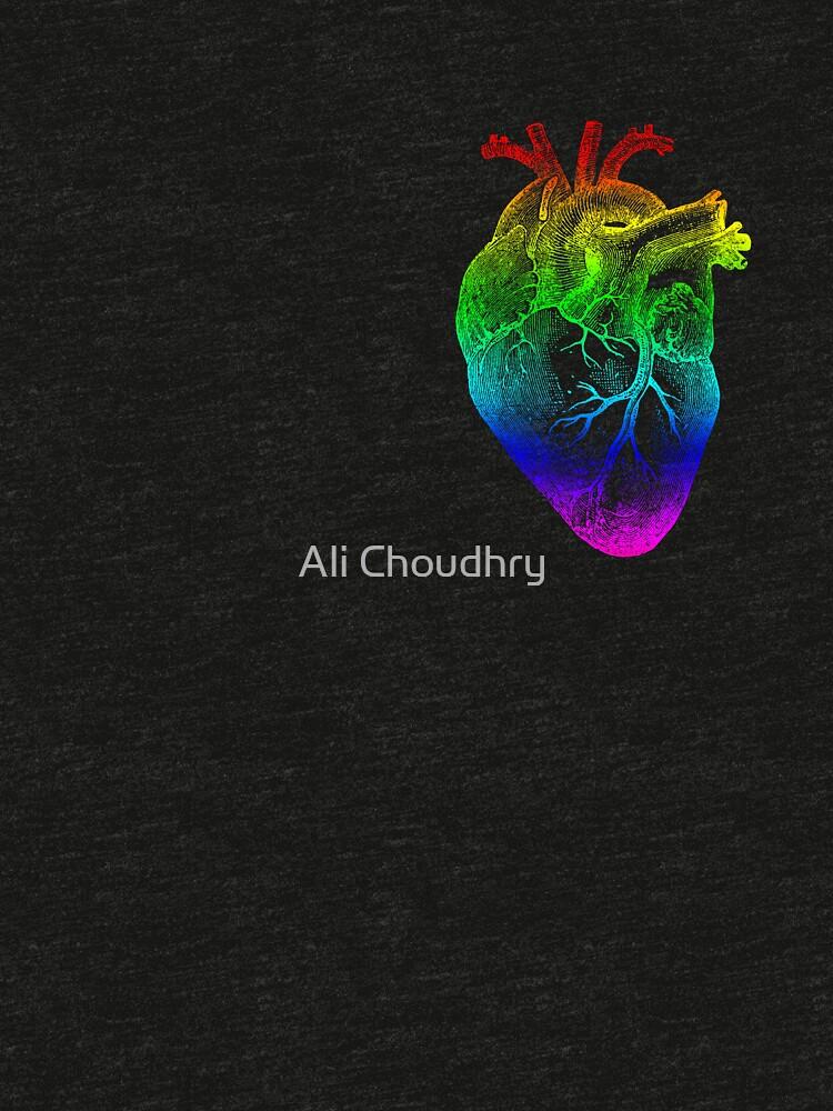 Regenbogen Herz von AHakir