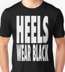 Heels Wear Black Unisex T-Shirt