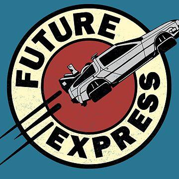 Future Express by rakelittle