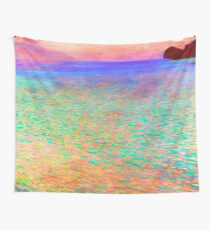 Gustav Klimt Lake Attersee Wall Tapestry