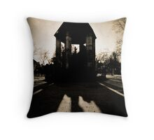 On Bended Knee Throw Pillow