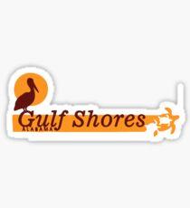 Gulf Shores - Alabama.  Sticker