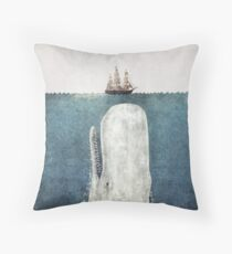 The Whale (Vintage) Throw Pillow