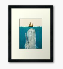 The Whale (Option) Framed Print