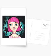 Star Girl Postcards