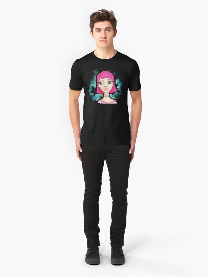 Alternate view of Star Girl Slim Fit T-Shirt