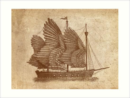 Winged Odyssey  (Option) by Terry  Fan
